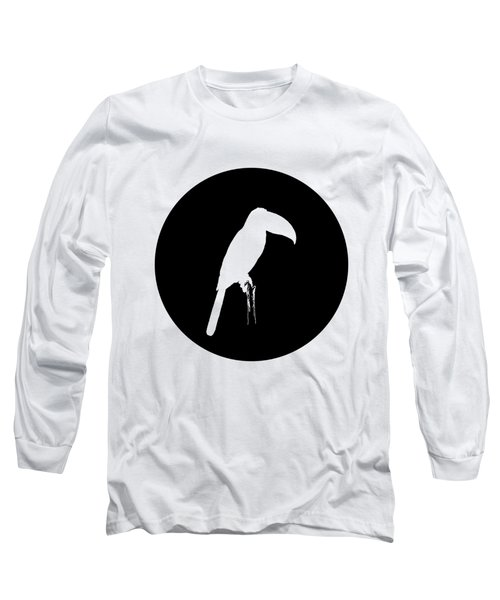 Toucan Long Sleeve T-Shirt by Mordax Furittus