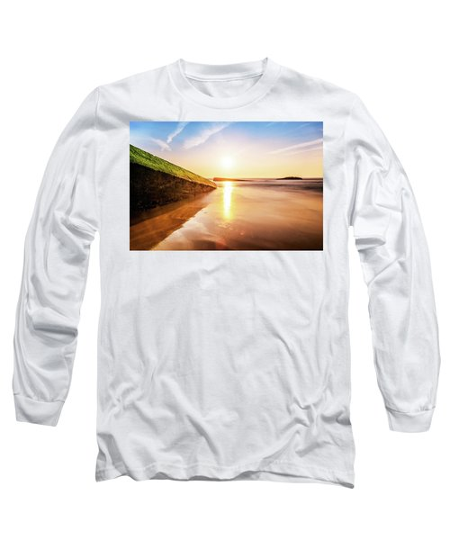Touching The Golden Cloud Long Sleeve T-Shirt by Thierry Bouriat