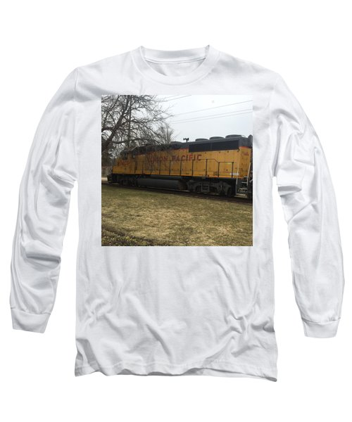 Train At The Ymca Long Sleeve T-Shirt