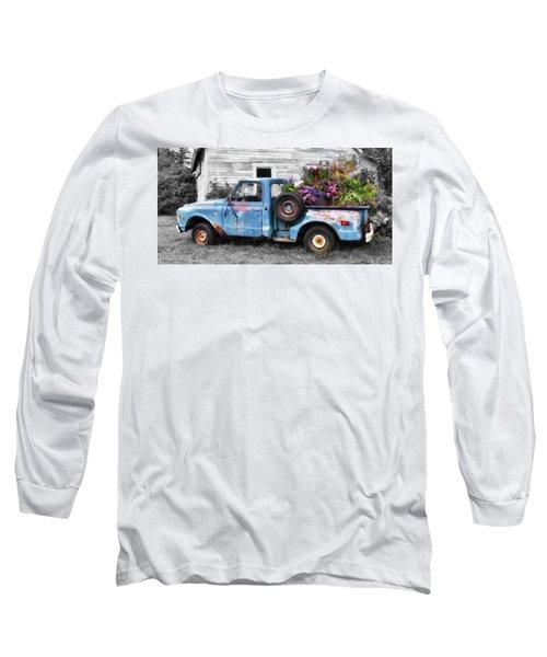 Truckbed Bouquet Long Sleeve T-Shirt