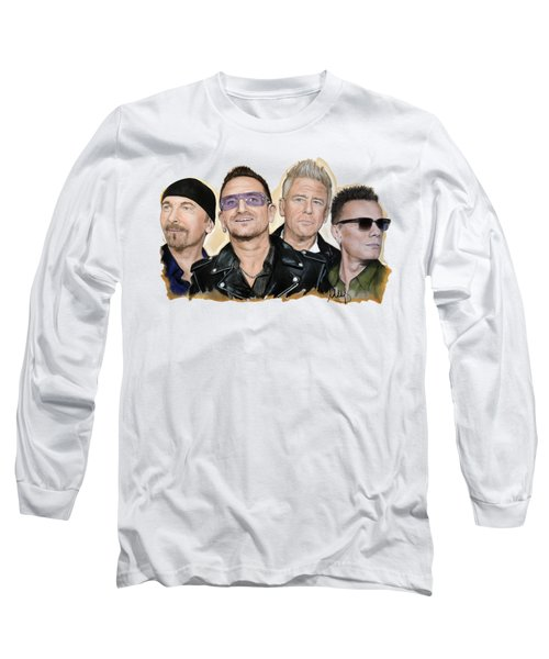 U2 Band Long Sleeve T-Shirt