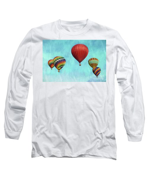 Long Sleeve T-Shirt featuring the photograph Up Up And Away 2 by Benanne Stiens