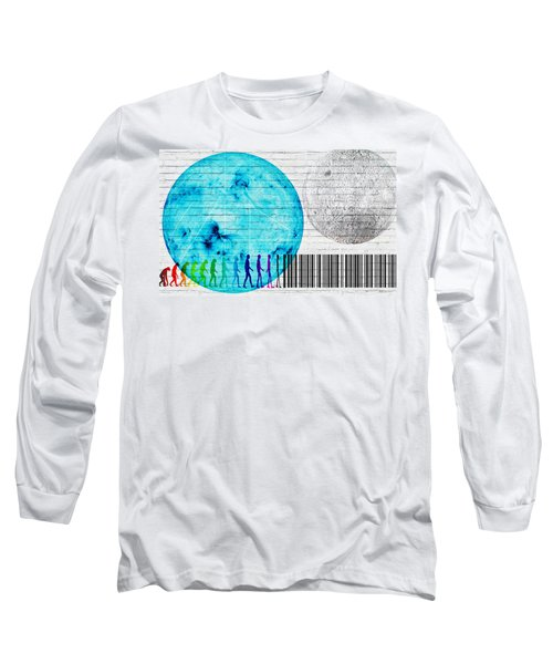 Urban Graffiti - Binary Evolution Long Sleeve T-Shirt