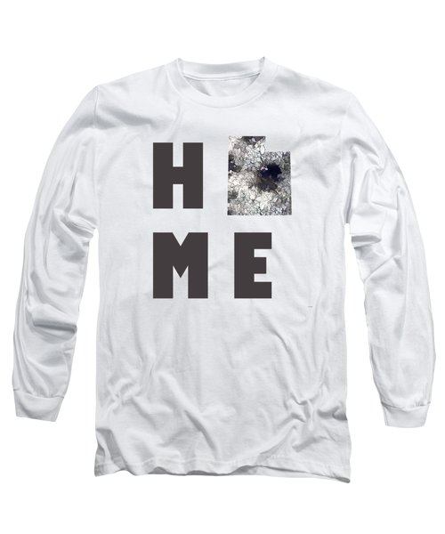 Long Sleeve T-Shirt featuring the digital art Utah State Map by Marlene Watson