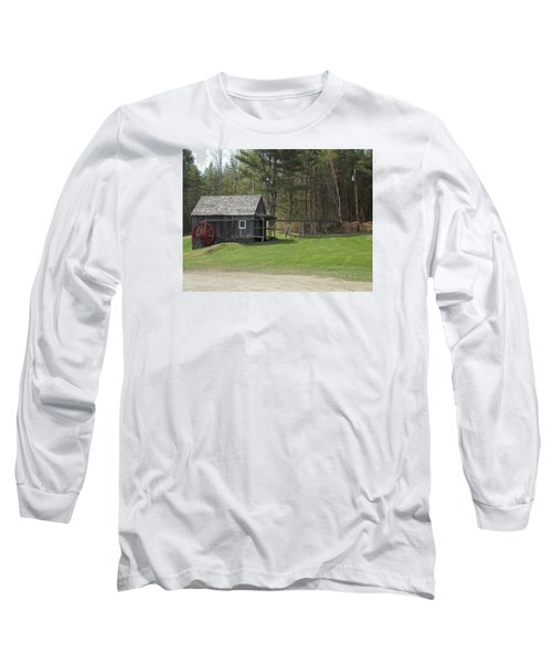 Vermont Grist Mill Long Sleeve T-Shirt by Catherine Gagne
