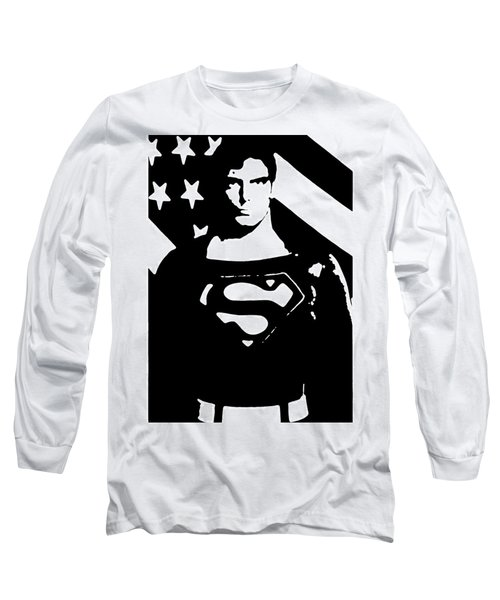Waiting For Superman Long Sleeve T-Shirt by Saad Hasnain