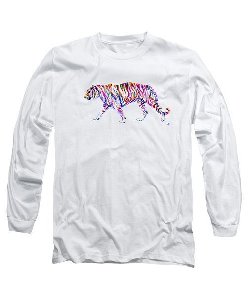 Walking Tiger Long Sleeve T-Shirt