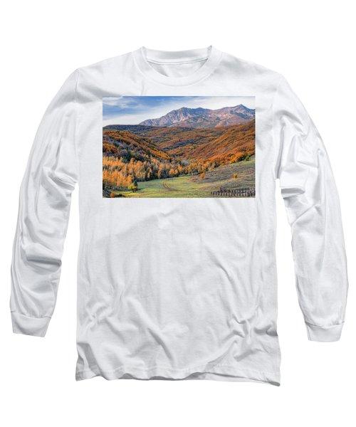 Wasatch Moutains Utah Long Sleeve T-Shirt
