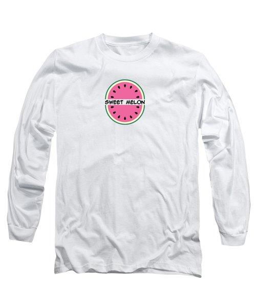 Watermelon Pattern Long Sleeve T-Shirt