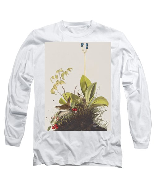 Wood Wren Long Sleeve T-Shirt