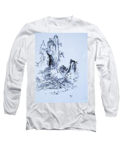 Yama No Fukei Long Sleeve T-Shirt