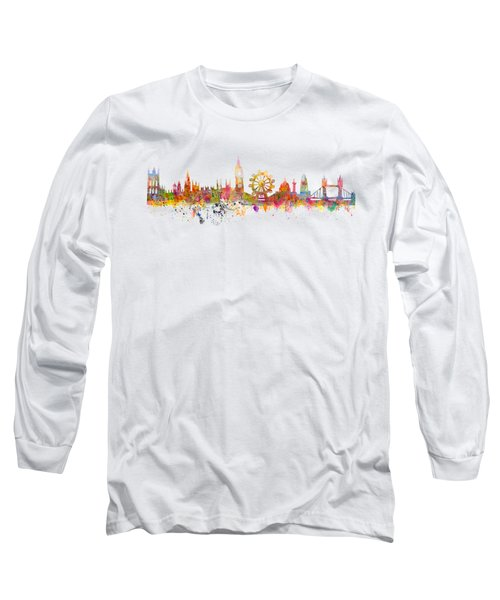 London Skyline Long Sleeve T-Shirt