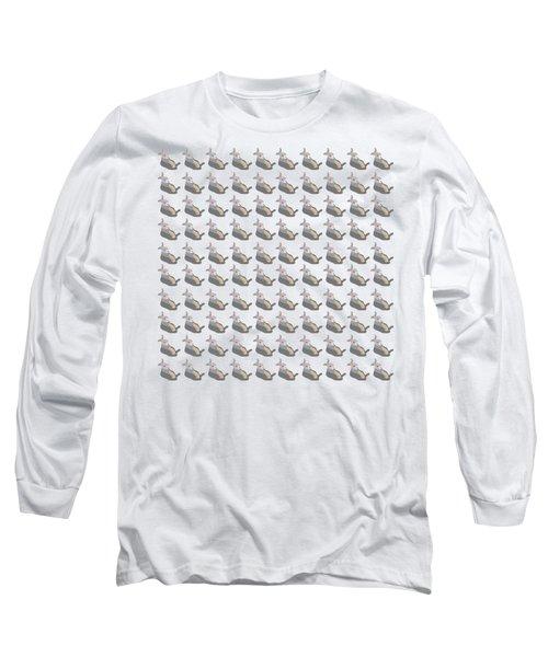 100 Drunken Rabbits Long Sleeve T-Shirt by Stan  Magnan