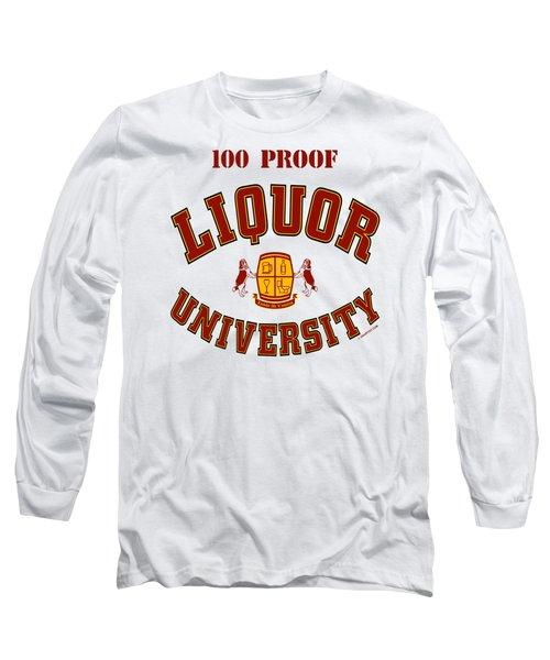 100 Proof Long Sleeve T-Shirt