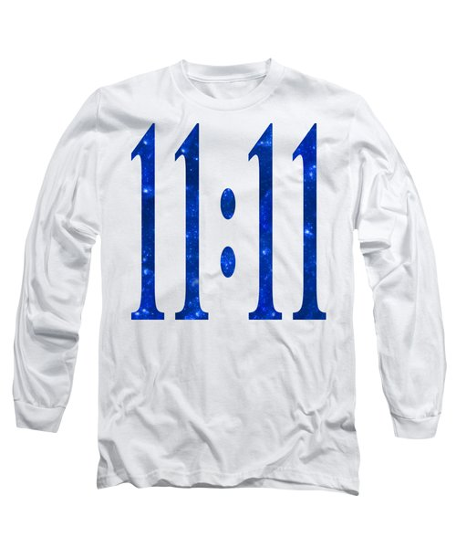 11 11 Long Sleeve T-Shirt by Ginny Gaura
