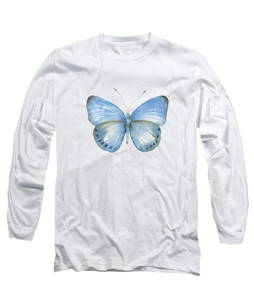 110 Blue Jack Butterfly Long Sleeve T-Shirt