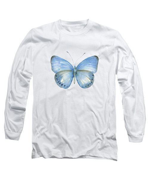 110 Blue Jack Butterfly Long Sleeve T-Shirt