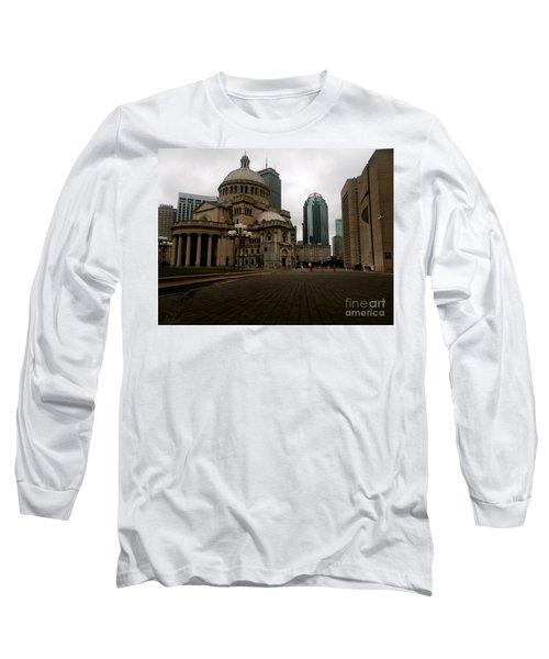 111 Huntington Ave Long Sleeve T-Shirt