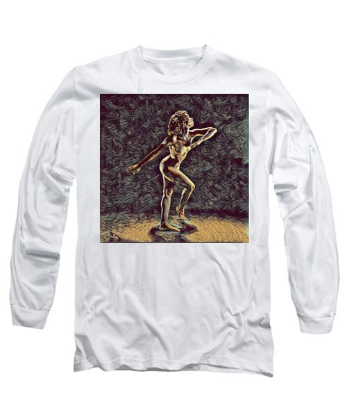 1192s-zac Nudes In The Style Of Antonio Bravo  Long Sleeve T-Shirt