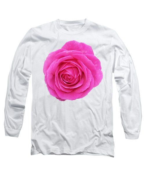Long Sleeve T-Shirt featuring the photograph Rose by George Atsametakis
