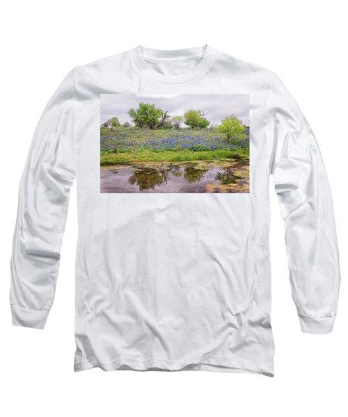 Texas Bluebonnets 7 Long Sleeve T-Shirt