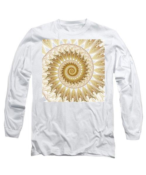 18 Karat Long Sleeve T-Shirt by Lea Wiggins