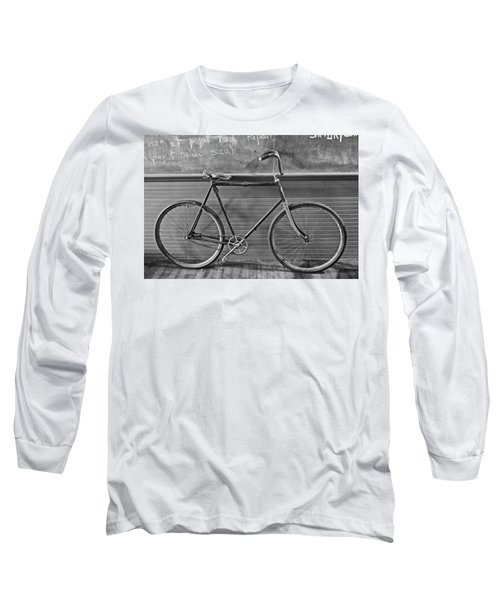 Long Sleeve T-Shirt featuring the photograph 1895 Bicycle by Joan Reese