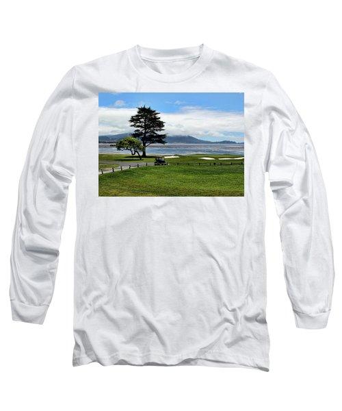 18th At Pebble Beach Horizontal Long Sleeve T-Shirt