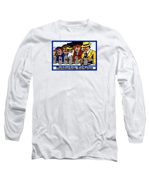 1905 Berlin Beer Hall Long Sleeve T-Shirt