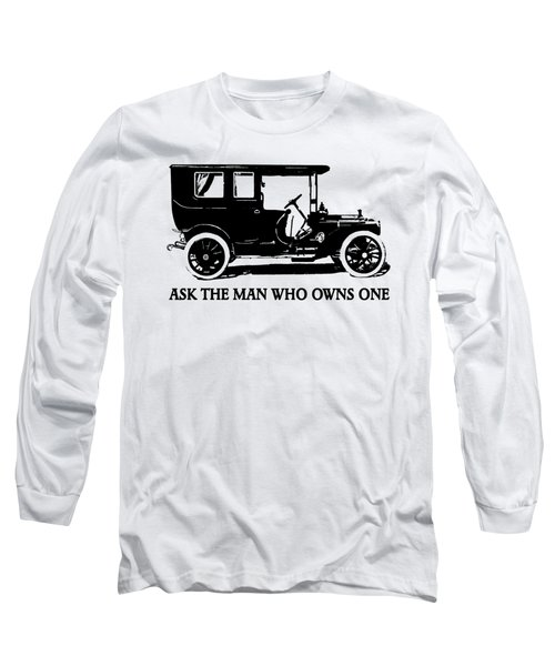 1909 Packard Limousine Slogan Long Sleeve T-Shirt