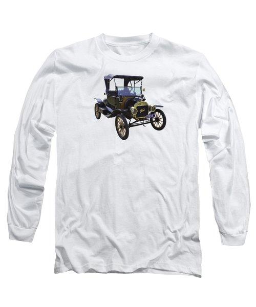 1914 Model T Ford Antique Car Long Sleeve T-Shirt