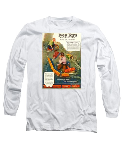 1920's Ives Toys Advertisement Long Sleeve T-Shirt