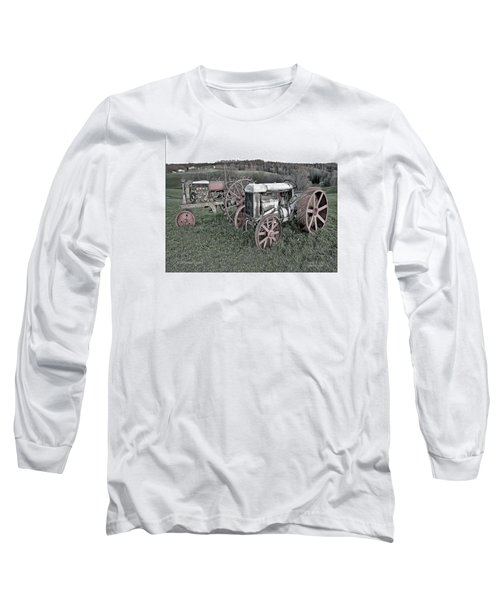1923 Fordson Tractors Long Sleeve T-Shirt by Mark Allen