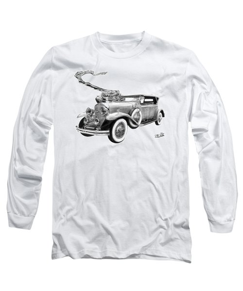 1929 Cadillac  Long Sleeve T-Shirt