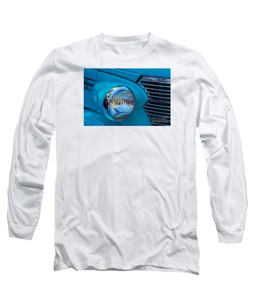 1936 Chevy Coupe Headlight And Grill Long Sleeve T-Shirt
