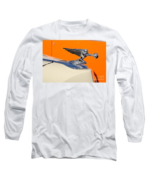 Long Sleeve T-Shirt featuring the photograph 1936 Packard Hood Ornament by Aloha Art