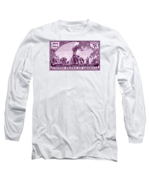 1944 Transcontinental Railroad Long Sleeve T-Shirt
