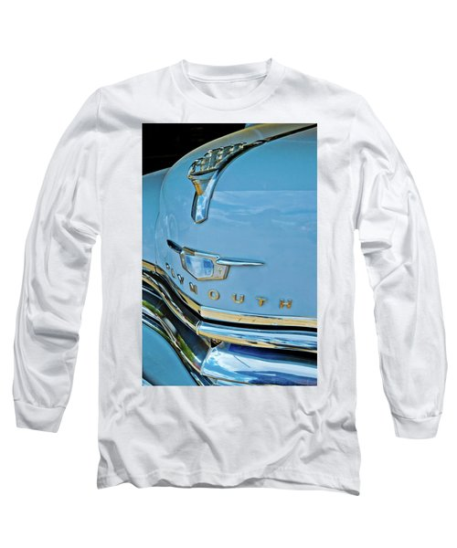 Long Sleeve T-Shirt featuring the photograph 1950 Plymouth Coupe by Linda Unger