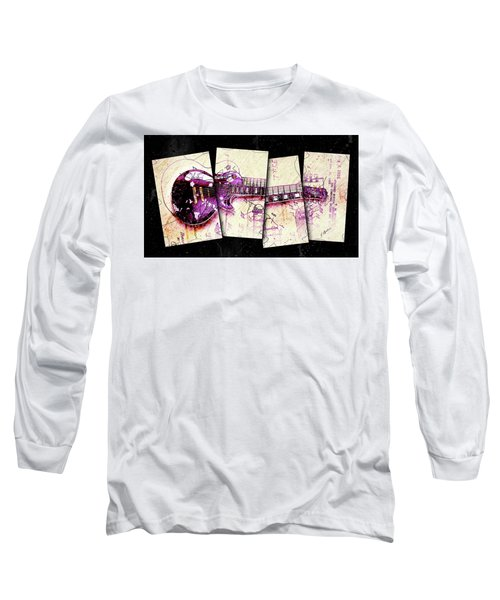 1955 Les Paul Custom Black Beauty V3 Long Sleeve T-Shirt