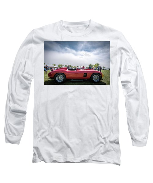 Long Sleeve T-Shirt featuring the photograph 1956 Ferrari 290mm by Randy Scherkenbach