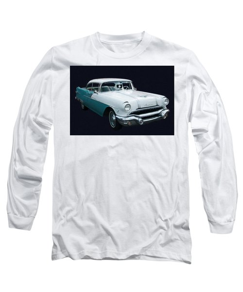 1956 Pontiac Star Chief Digital Oil Long Sleeve T-Shirt