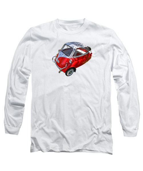 1957 Isetta 300 Top View Long Sleeve T-Shirt