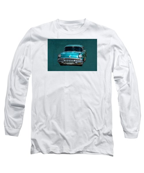 1957 Pontiac Bonneville Long Sleeve T-Shirt