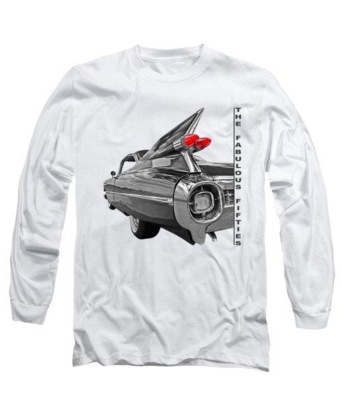 1959 Cadillac Tail Fins Long Sleeve T-Shirt