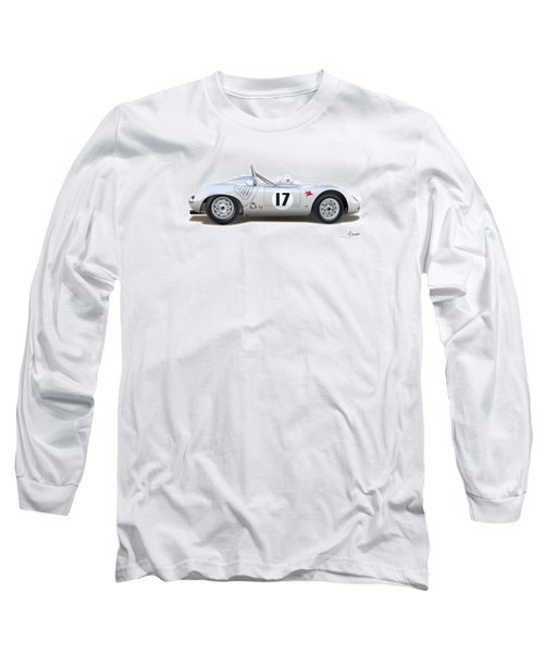 1959 Porsche Type 718 Rsk Spyder Long Sleeve T-Shirt