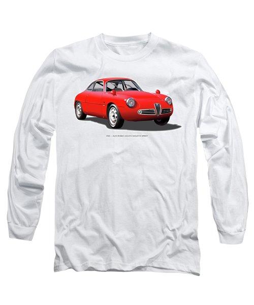 1960 Alfa Romeo Zagato Giulietta Sprint Long Sleeve T-Shirt