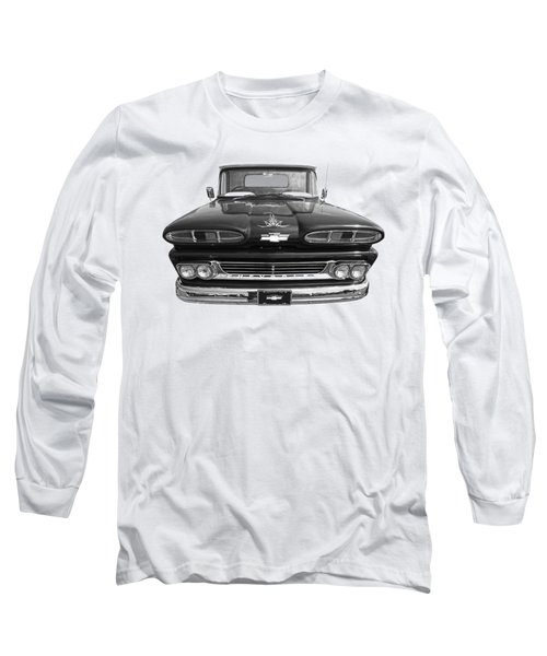 Long Sleeve T-Shirt featuring the photograph 1960 Chevy Truck by Gill Billington