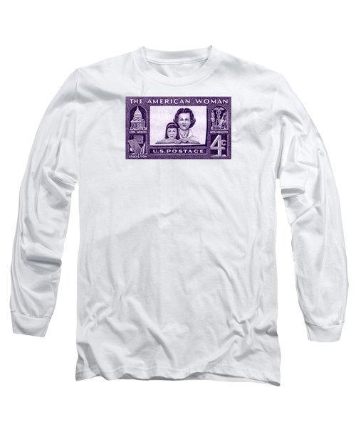 1960 The American Woman Long Sleeve T-Shirt