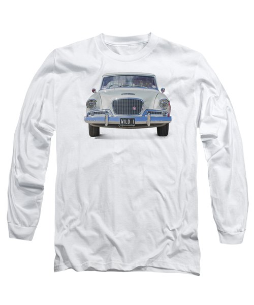 1961 Studebaker Hawk On A Transparent Background Long Sleeve T-Shirt