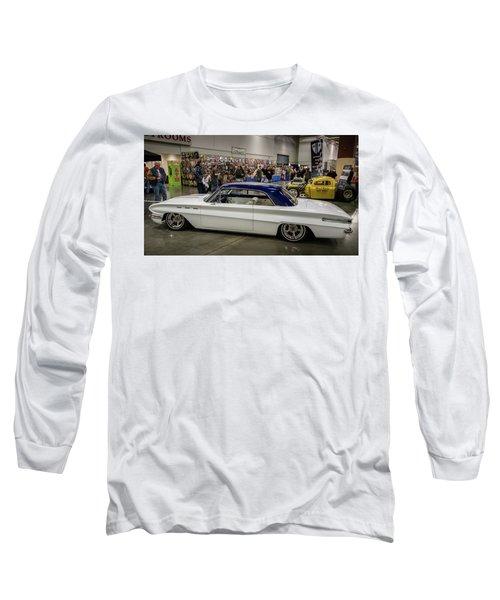 1962 Buick Skylark Long Sleeve T-Shirt by Randy Scherkenbach